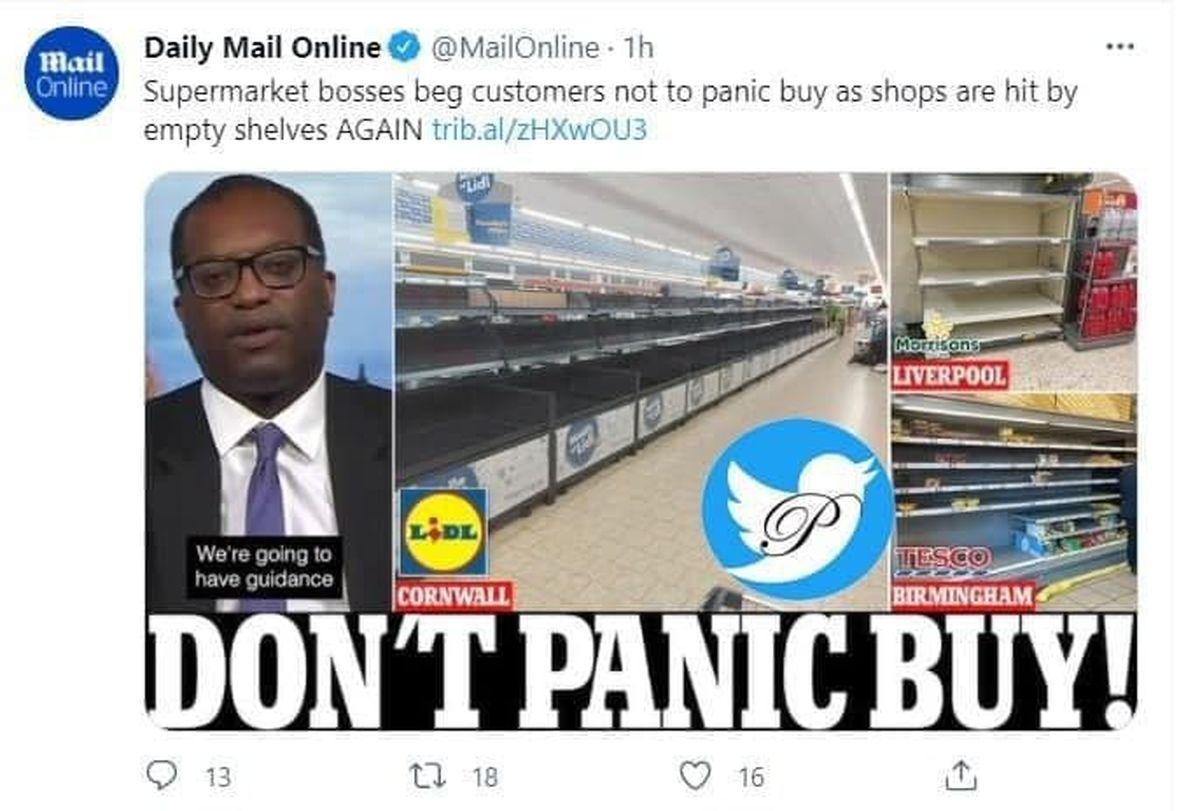 التماس مسئولان به مردم انگلیس برای حمله نکردن به فروشگاه ها!