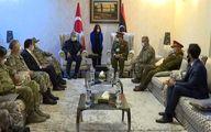 «سفر جنگی» وزیر دفاع ترکیه به لیبی اعراب را نگران کرد