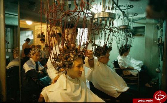 سالن آرایشی عجیب در شانگهای +عکس