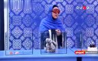 خانمی که در مسابقه تلوزیونی همسرش را با گربه اشتباه می گیرد! +فیلم