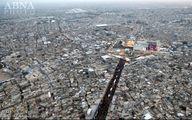 تصاویر هوایی از حرم امامین جوادین(ع)