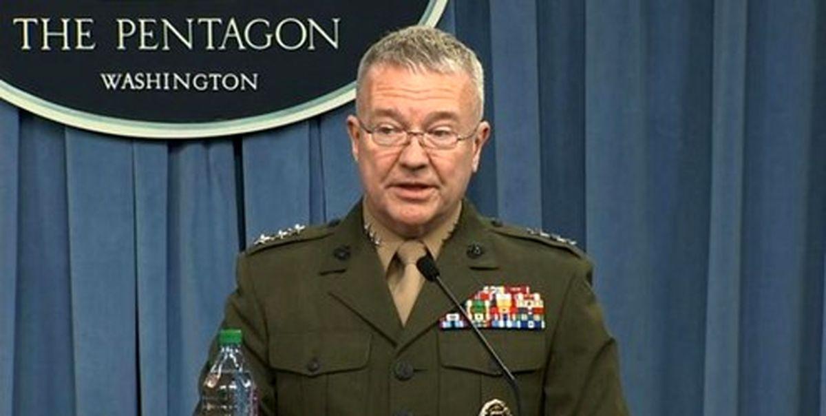 تبلیغات رسانهای فرمانده نیروهای تروریست آمریکایی علیه ایران