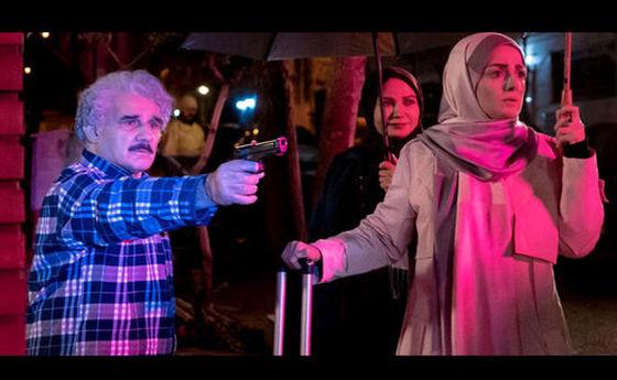 هفت تیرکشی مهدی هاشمی در «کامیون» +عکس