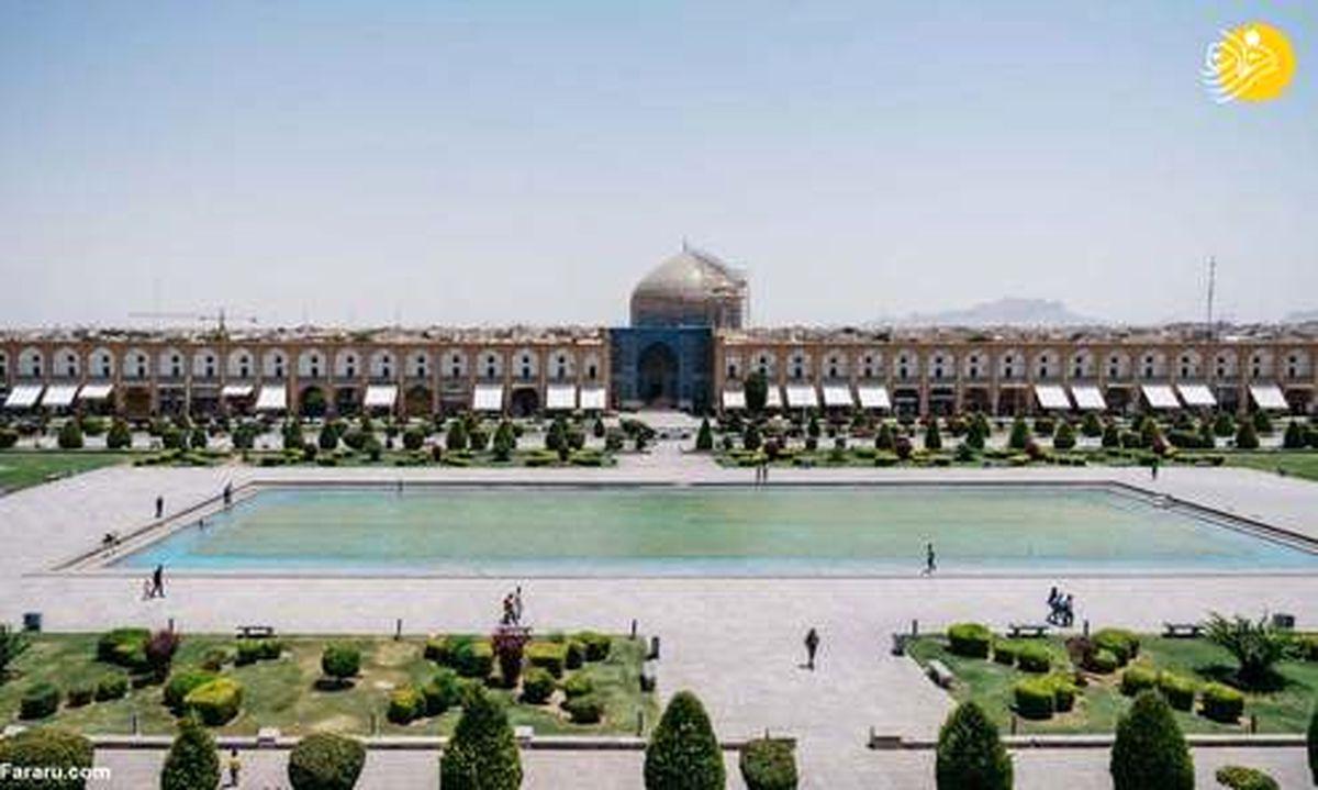 تصاویر عکاس خارجی از اماکن مقدس زیبا در ایران