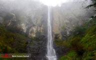 تصاویر: زیباییهای آبشار لاتون در گیلان