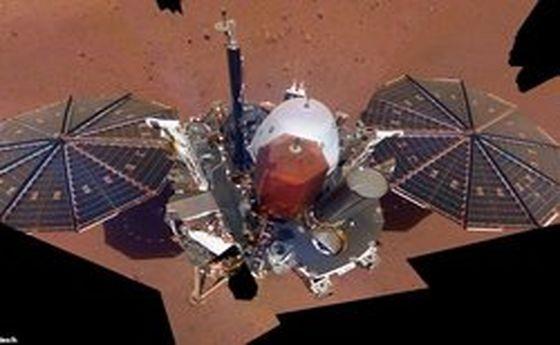 نخستین سلفی «اینسایت» از مریخ  +تصاویر