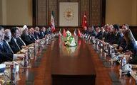 روحانی: اراده ایران توسعه هرچه بیشتر روابط با ترکیه است