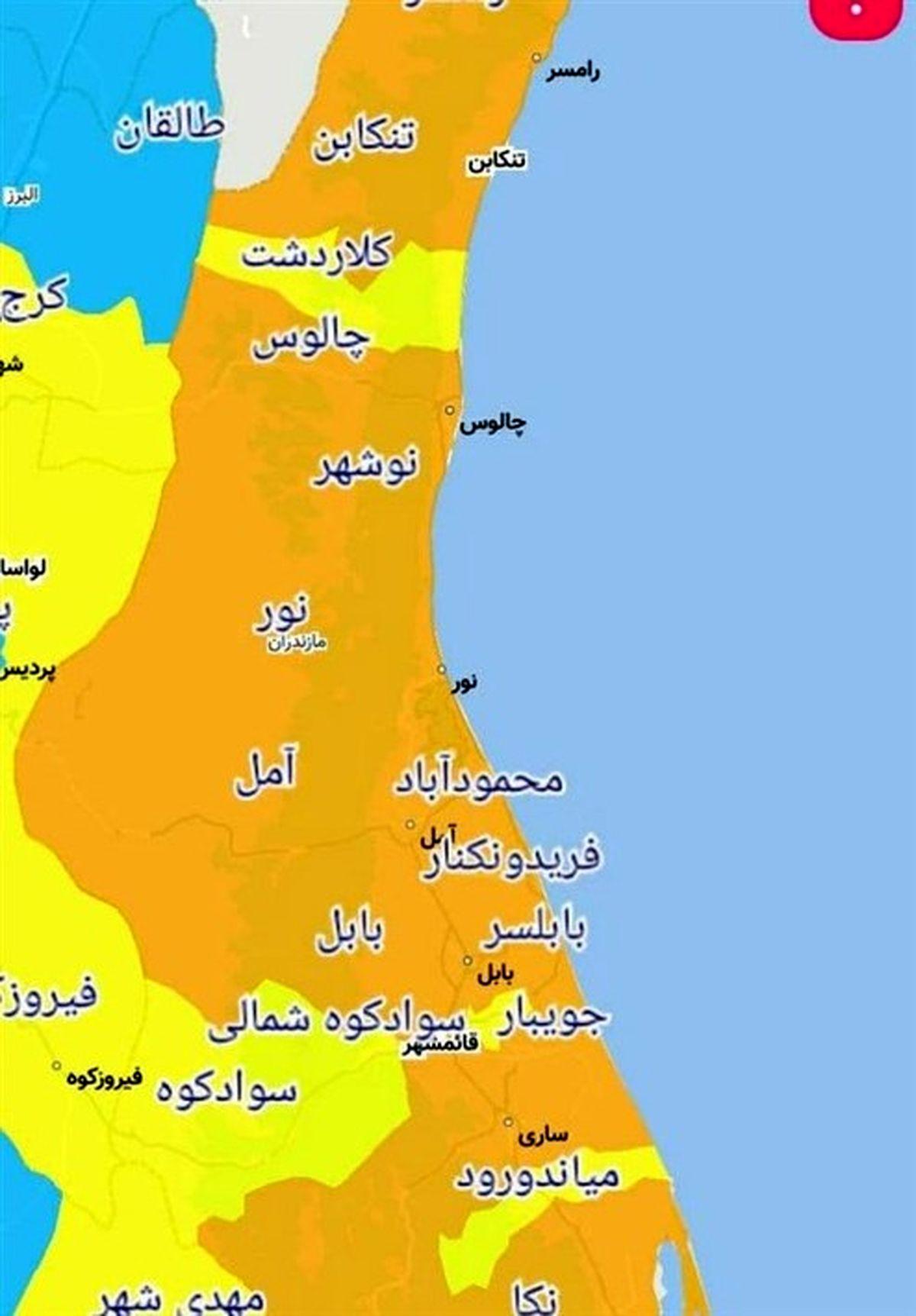سفر به مازندران همچنان ممنوع