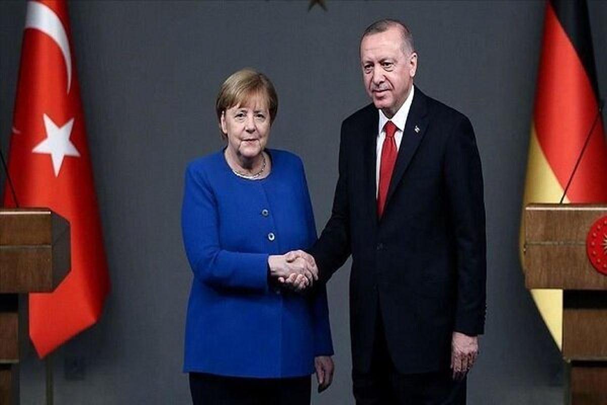 موضوع رایزنی اردوغان و مرکل
