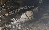 سقوط شئ پرنده در قبرس بعد از حملات هوایی به سوریه +فیلم و تصاویر
