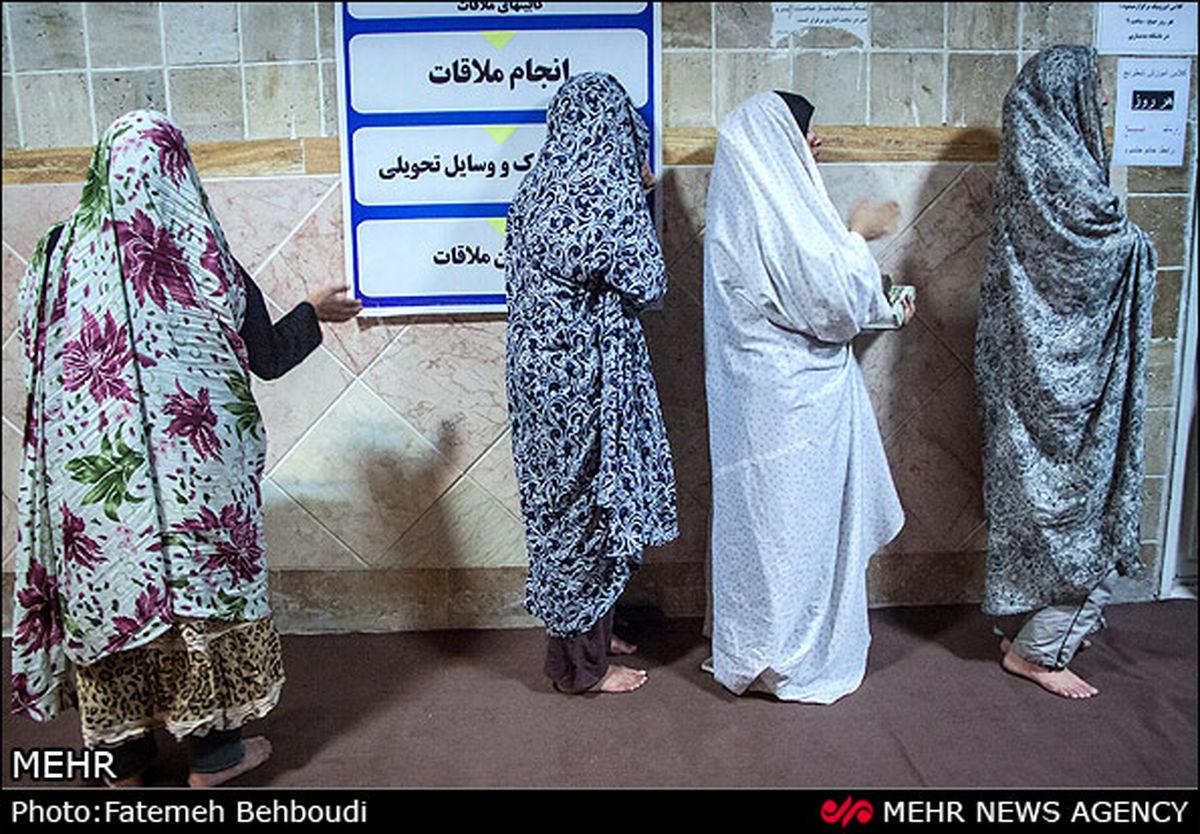 تصاویر/ شب قدر در زندان زنان