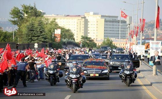 تصاویر: مراسم تحلیف اردوغان