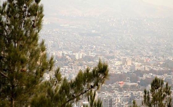 کیفیت هوای تهران در اولین روز زمستان