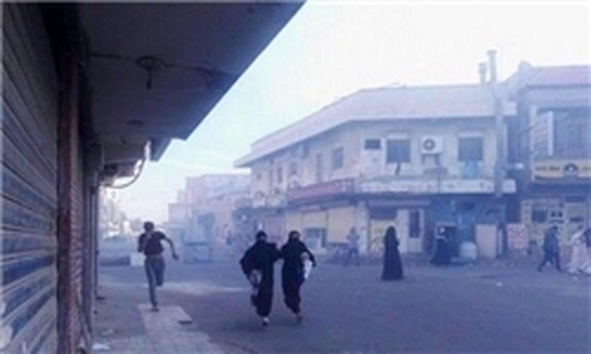 نیروهای امنیتی بحرین تظاهرات مردمی را سرکوب کردند