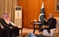 دیدار وزیر سعودی با رئیسجمهور پاکستان