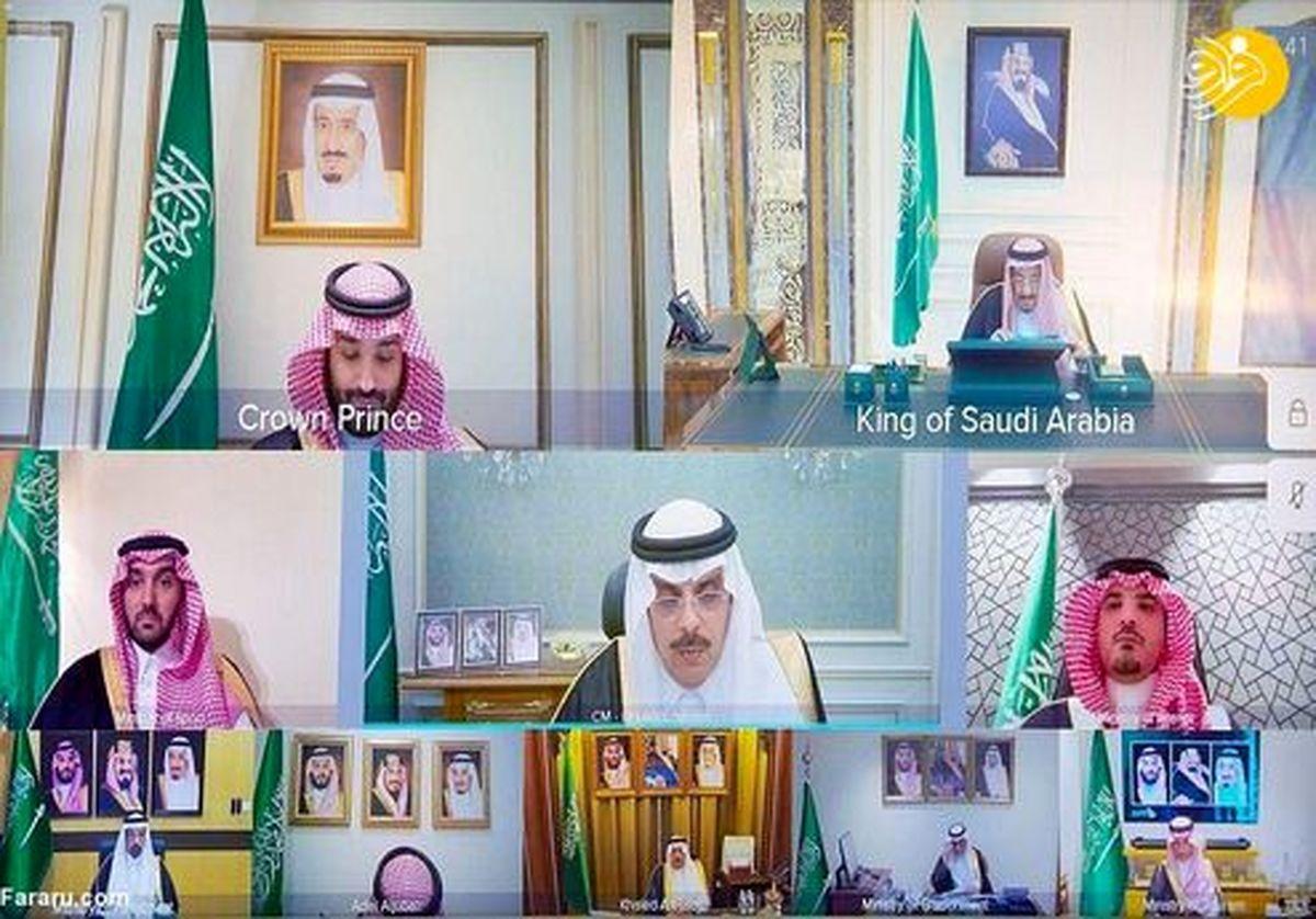 تصاویری متفاوت از پادشاه عربستان در بیمارستان!