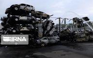 آتش سوزی مهیب ۵۰۰ خودرو در فرانسه +تصاویر