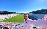 استادیوم اختصاصی فوتبالیست معروف ساخته شد +عکس