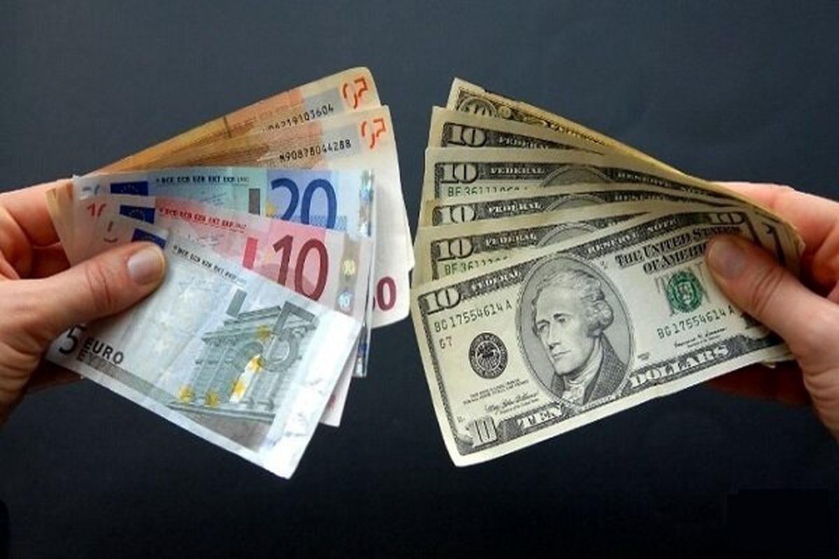 نرخ خریدو فروش دلار و یورو در صرافی ملی