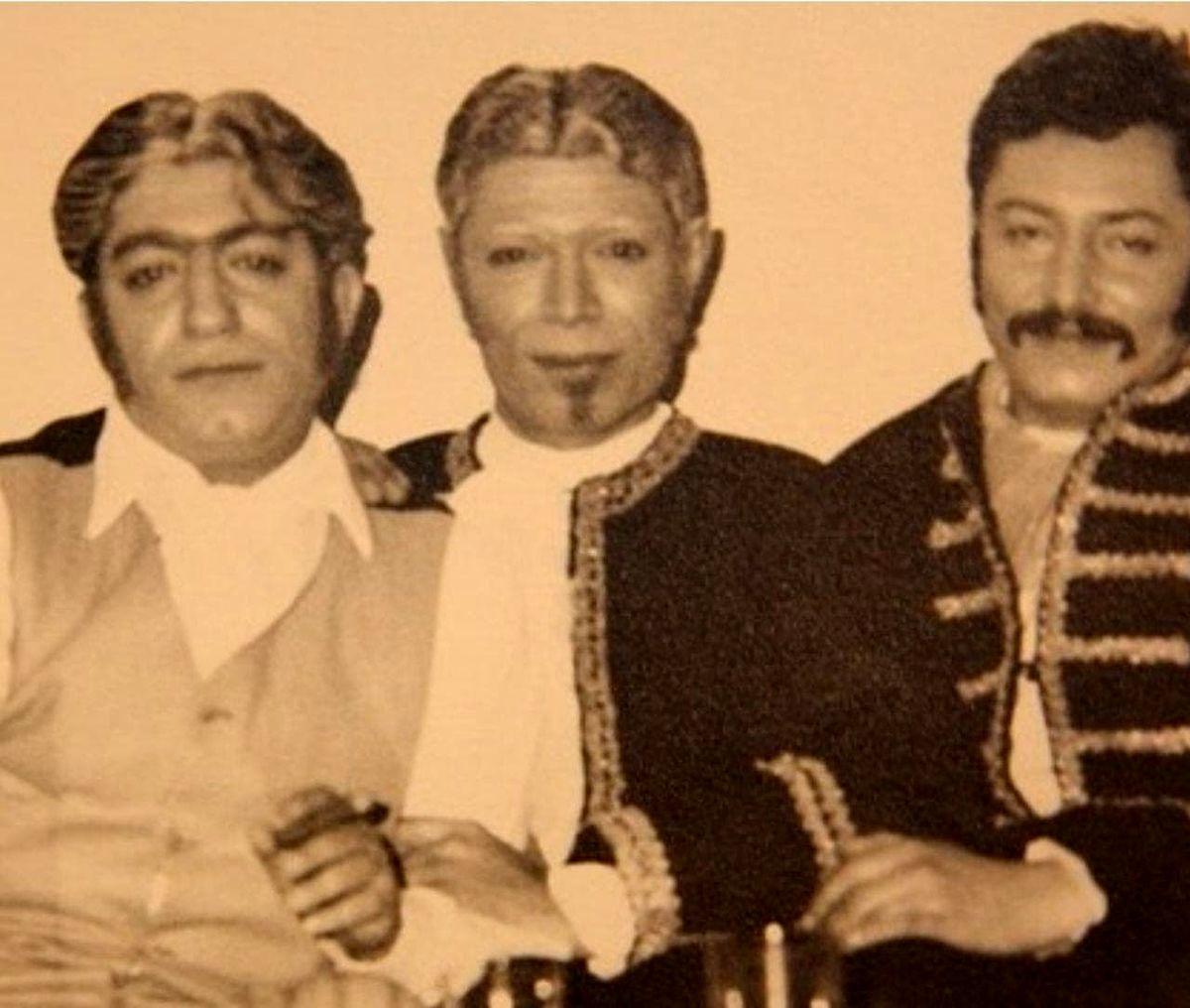 عکسی از 3 بازیگر معروف ایرانی پنجاه سال پیش