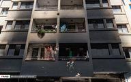 تصاویر: آتشسوزی در مجتمع مسکونی در شیراز