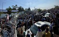 تیراندازی نیروهای آمریکایی به مردم در فرودگاه کابل +فیلم