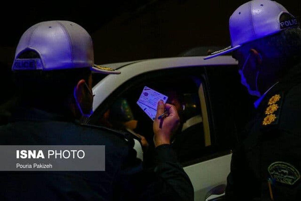جریمه ۵۲ هزار خودرو در شب گذشته
