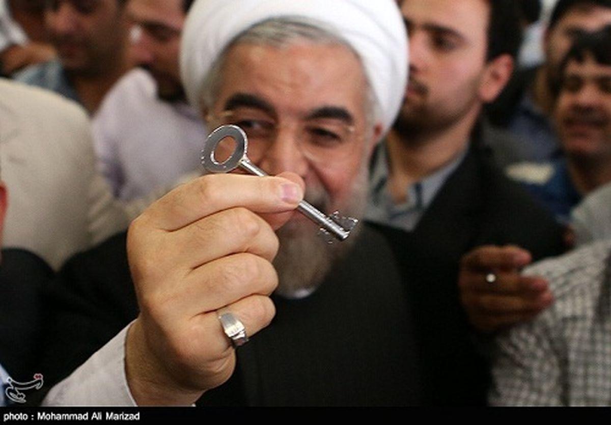عکس/ کلید حسن روحانی