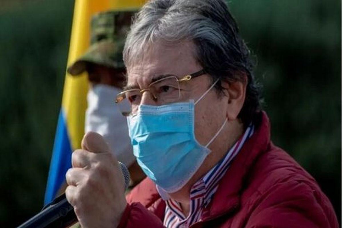 وزیر دفاع کلمبیا در پی ابتلا به کرونا درگذشت