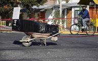 رها کردن جسد یک کرونایی در خیابان +عکس