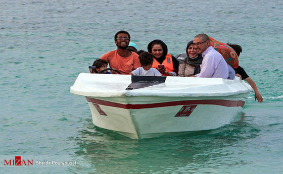 تصاویر: مسافرت به کیش با وجود هشدارهای کرونایی