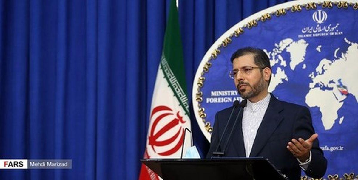 واکنش خطیب زاده به توقیف نفتکش ایرانی در آبهای اندونزی
