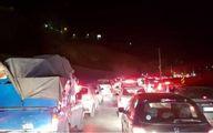ترافیک سنگین در آزادراه تهران - کرج/ مهگرفتگی در محور چالوس