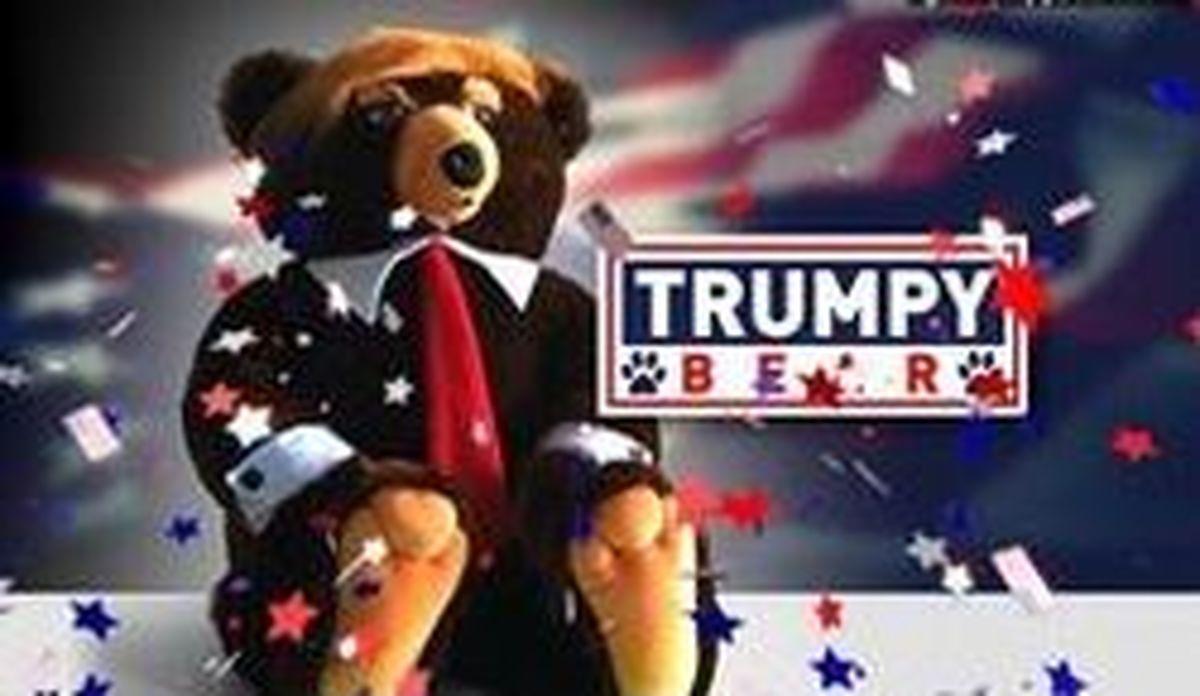 عروسک ۱۹ دلاری «ترامپ خرسه» وارد بازار کریسمس شد!