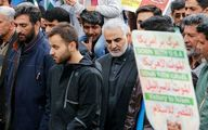 حضور سپهبدِ شهید حاج قاسم سلیمانی در راهپیمایی ۲۲ بهمن ۹۷ +عکس