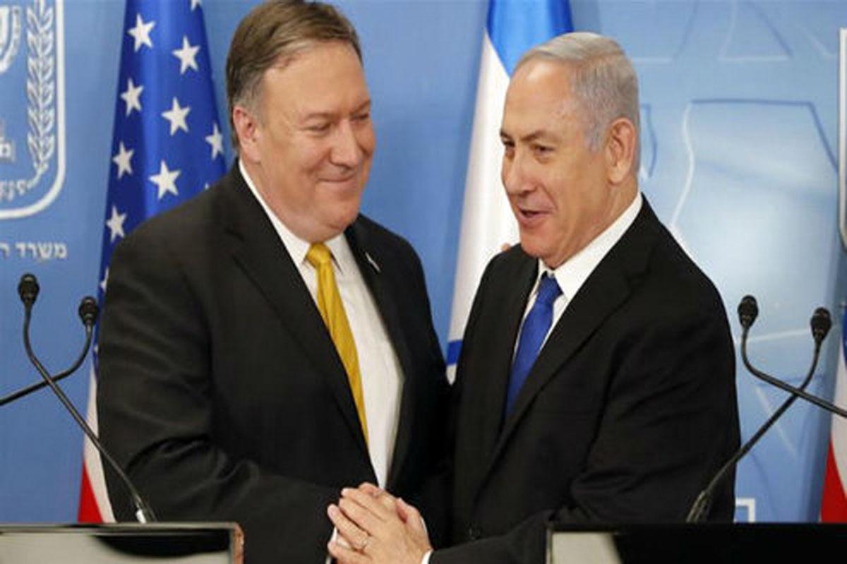 پمپئو: با نتانیاهو درباره ایران گفتگو کردم