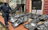 ماجرای کیسههای جسد مقابل خانههای سناتورها +عکس و فیلم