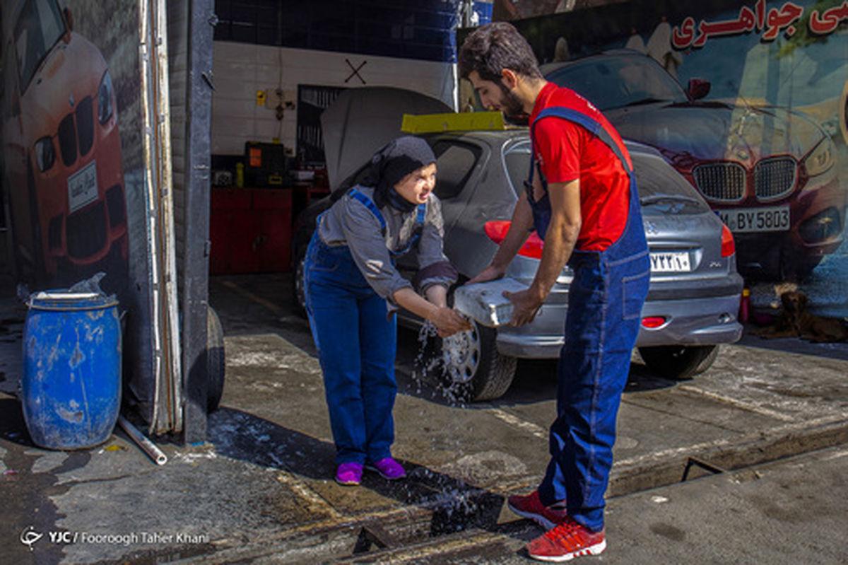 تصاویر: زندگی متفاوت زوج مکانیک در شهر تهران