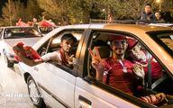 تصاویر: شادی هواداران تراکتور پس از قهرمانی در جام حذفی