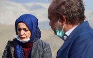 شقایق دهقان و علی صادقی جلوی دوربین «نون. خ ۳»