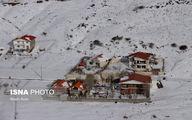 تصاویر: امداد رسانی به مناطق برف گرفته گیلان