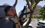 سلاح فرمانده سپاه در حملات دیروز چه بود؟ +تصاویر