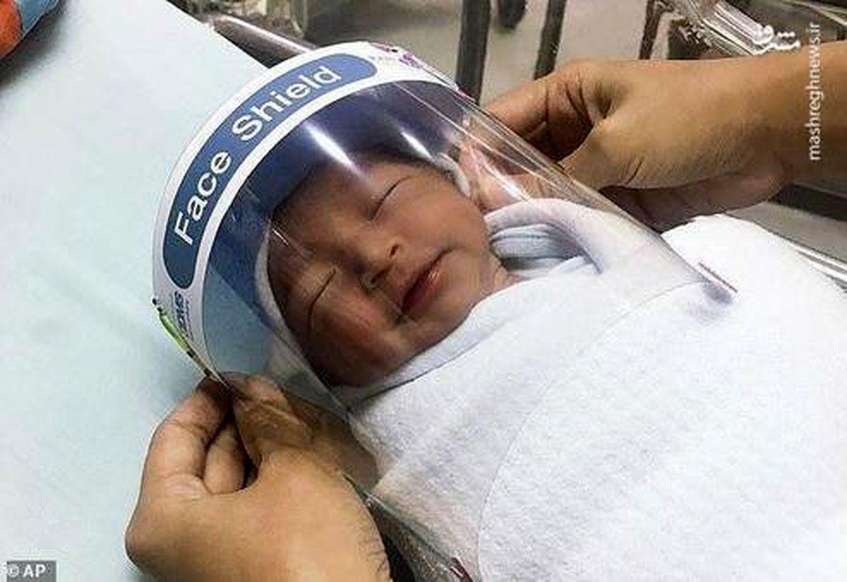 نحوه محافظت از نوزادان در مقابل کرونا +عکس