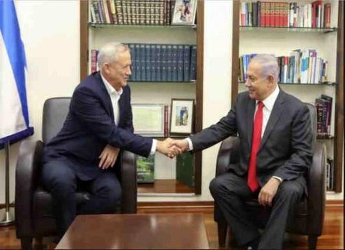 رسانههای اسرائیلی: نتانیاهو و گانتس به توافق رسیدند