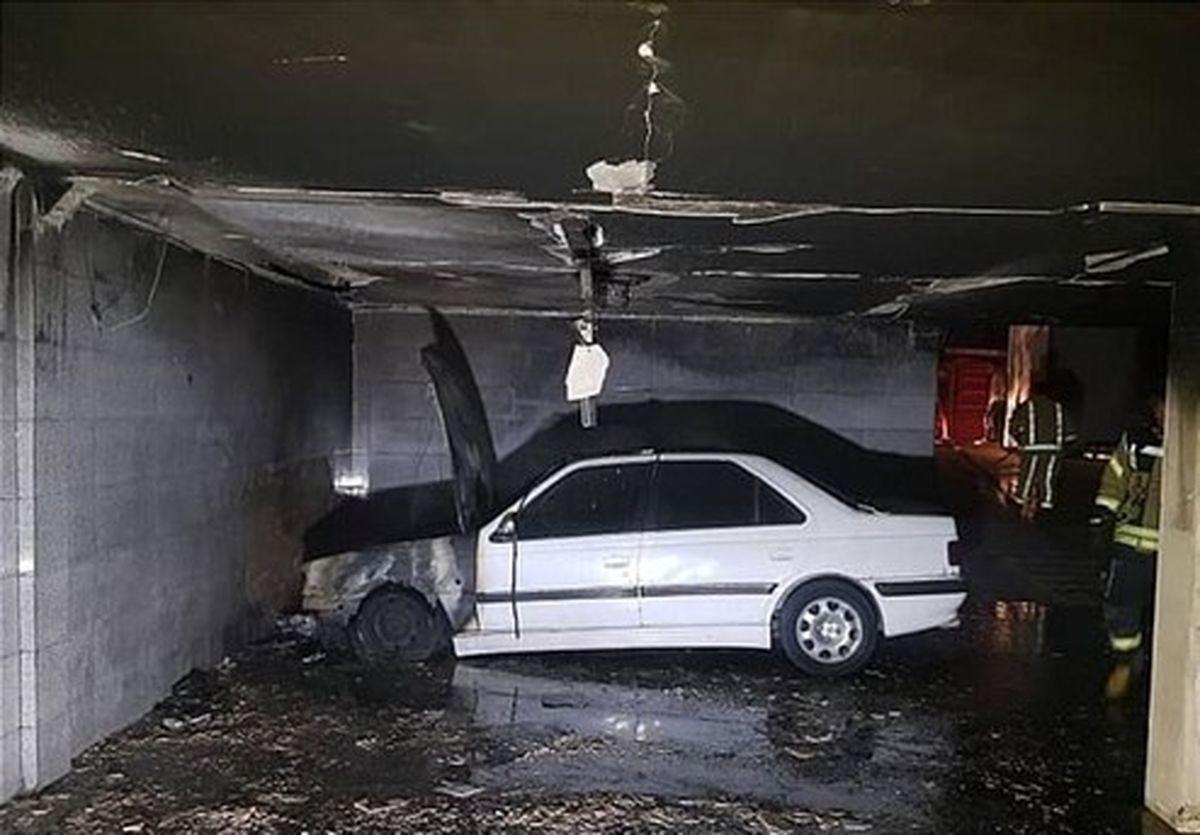 آتشسوزی پرشیا ۱۵ نفر را گرفتار کرد +تصاویر