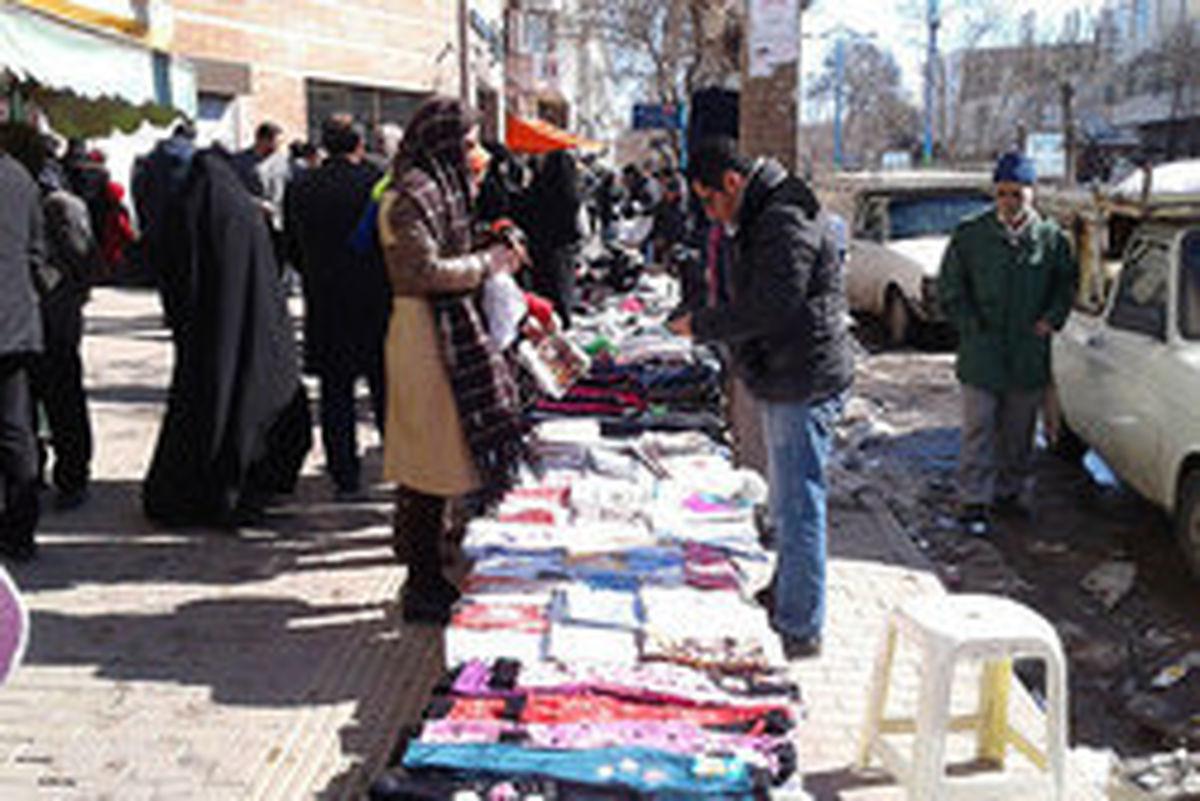 ساماندهی ۳۰ هزار دستفروش در پایتخت