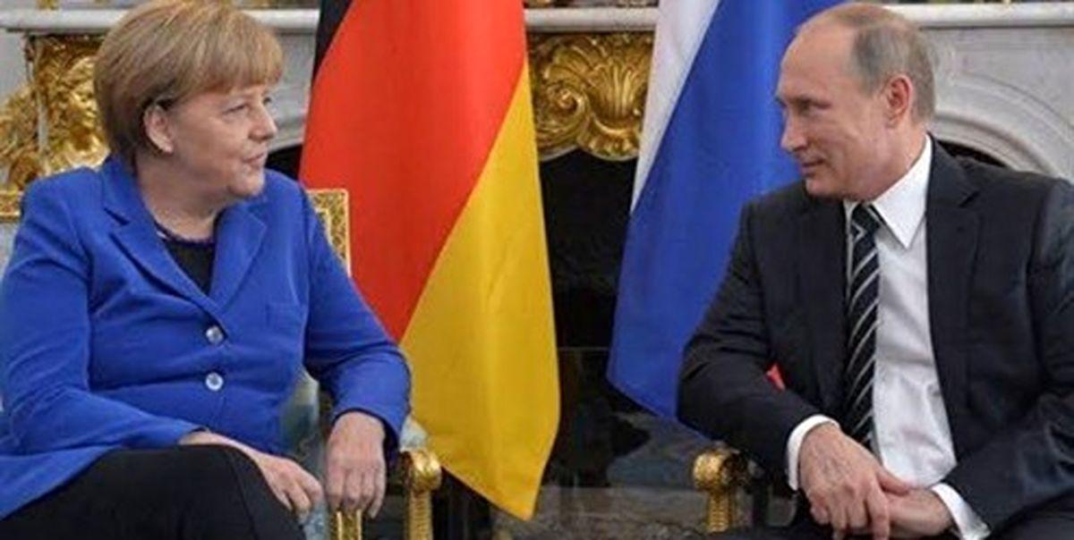 رایزنی تلفنی پوتین و مرکل درباره بحران کرونا