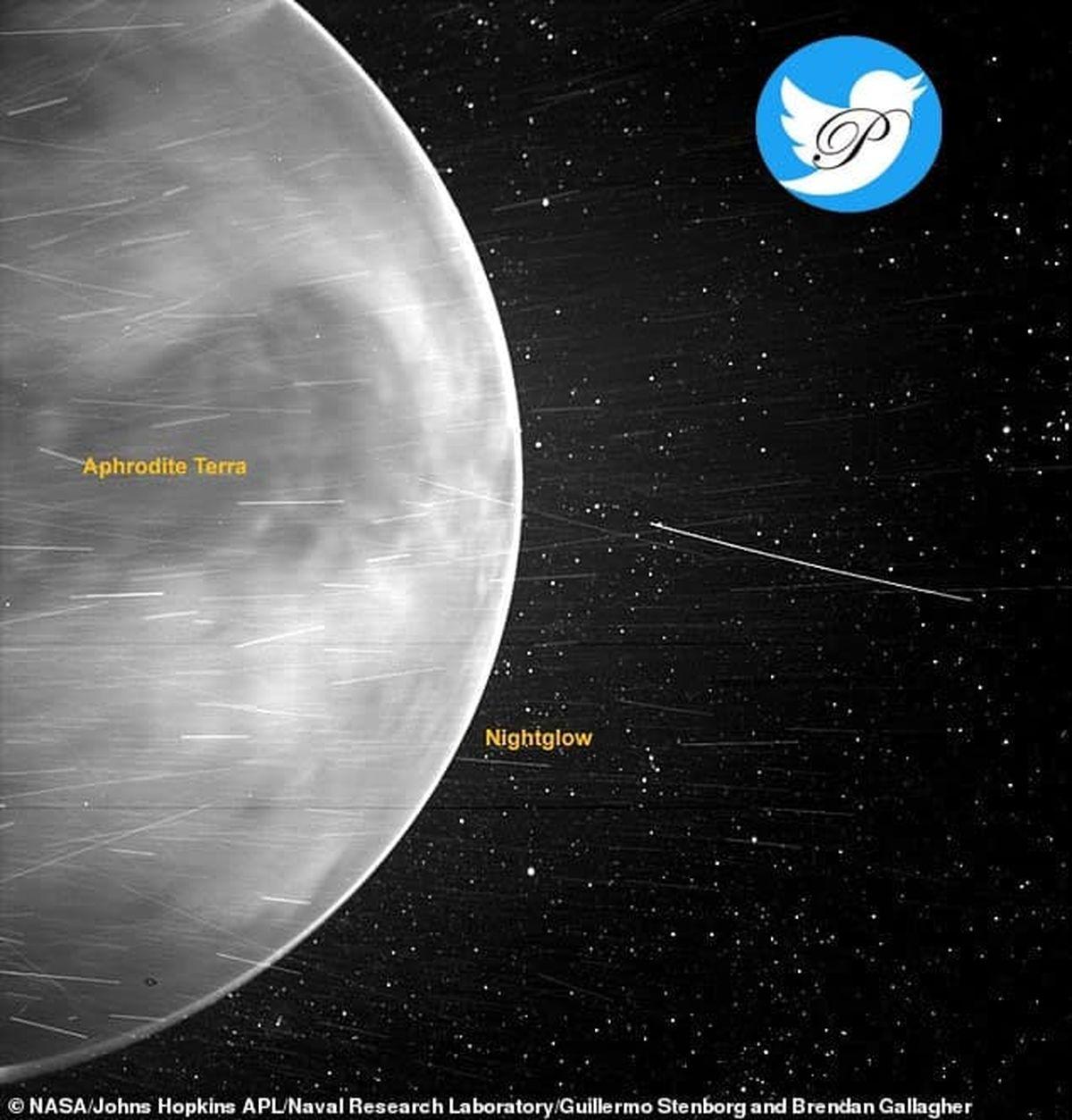 تصویر کم نظیر ناسا از سیاره زهره