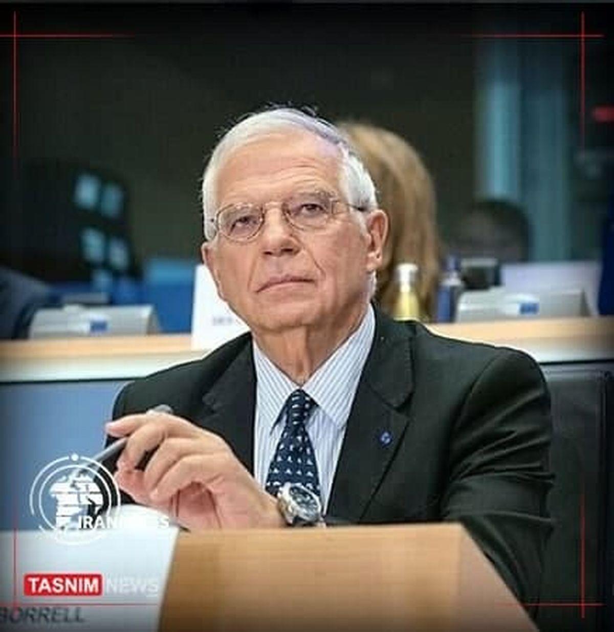 بورل: خواهان بازگشت ایران و رفع تحریمها هستیم