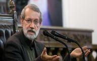 سکوت انتخاباتی علی لاریجانی